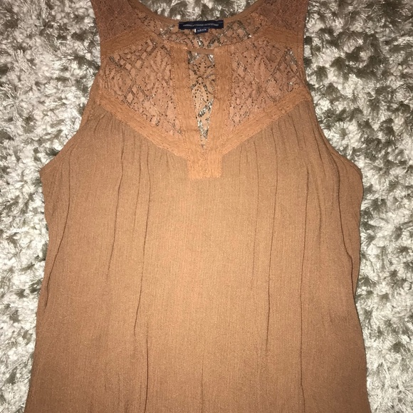 American Eagle Outfitters Tops - BROWN TANK